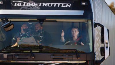 NZ's Louise Marriott - Volvo's stunt driver