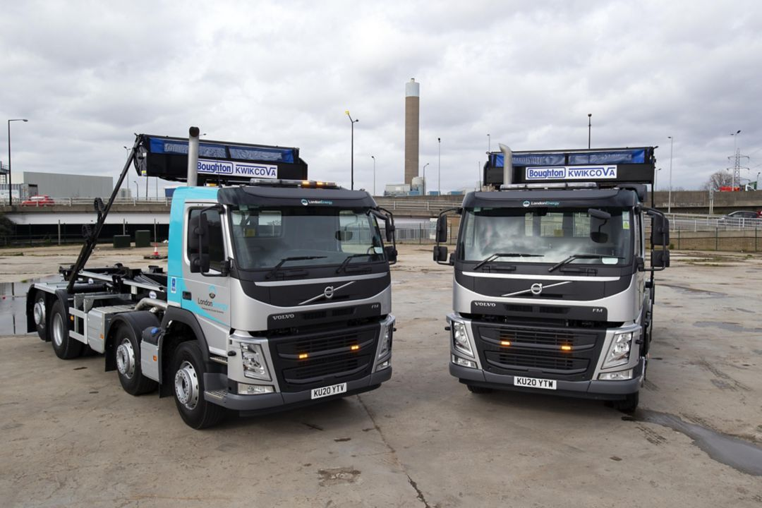 Waste management service provider, London Energy, is taking delivery of nine Volvo FM rigids as part of a full upgrade of its hook-loader fleet.