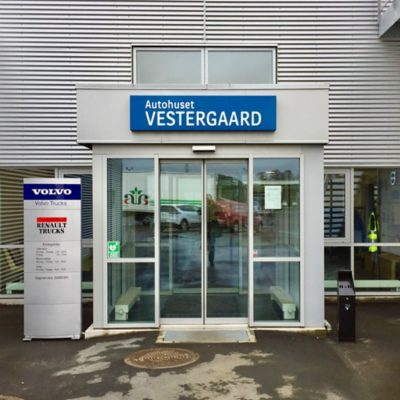 Autohuset Vestergaard A/S, Lastvogne