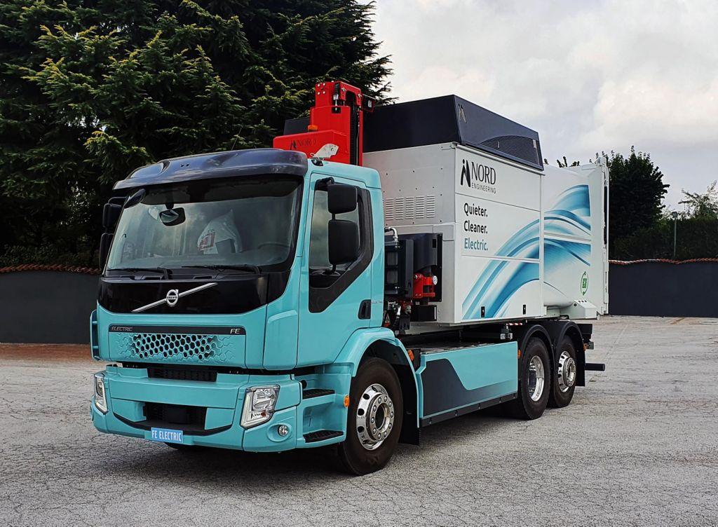 Nord Engineering sceglie Volvo Trucks per realizzare il suo primo veicolo elettrico per la raccolta differenziata dei rifiuti