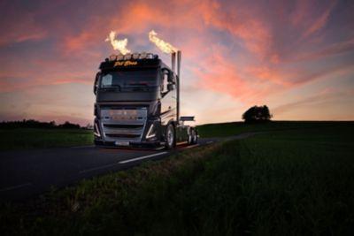 Pitboss vil være i sentrum – lastebilen som har blitt lagt merke til i hele Norge, og fra Asia i øst til Amerika i vest.