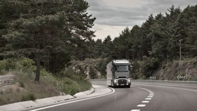 Spar drivstoff med Renault Trucks. Foto.
