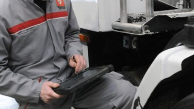 Vedligeholdelse af lette erhvervskøretøjer
