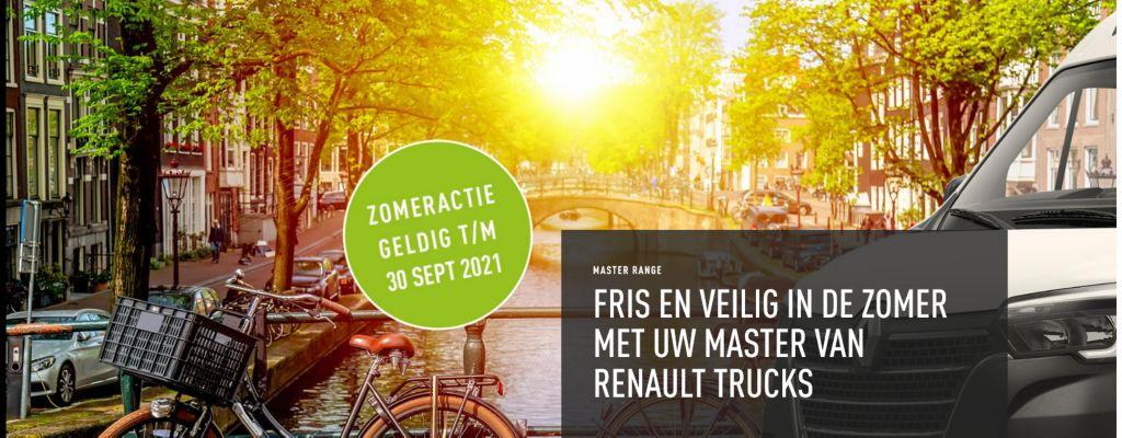 Renault Master Zomer Actie