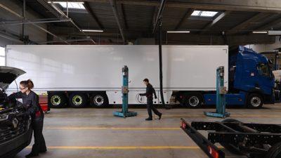 LVS Trucks Trailer onderhoud