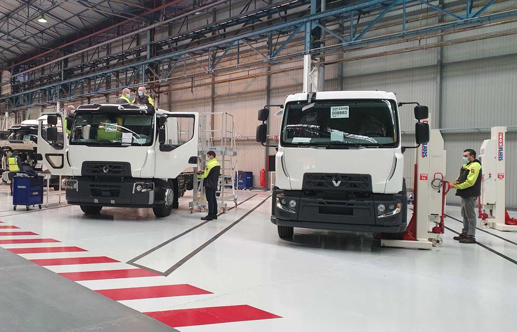 Renault Trucks opent aanpassingscentrum in Blainville-Sur-Orne fabriek