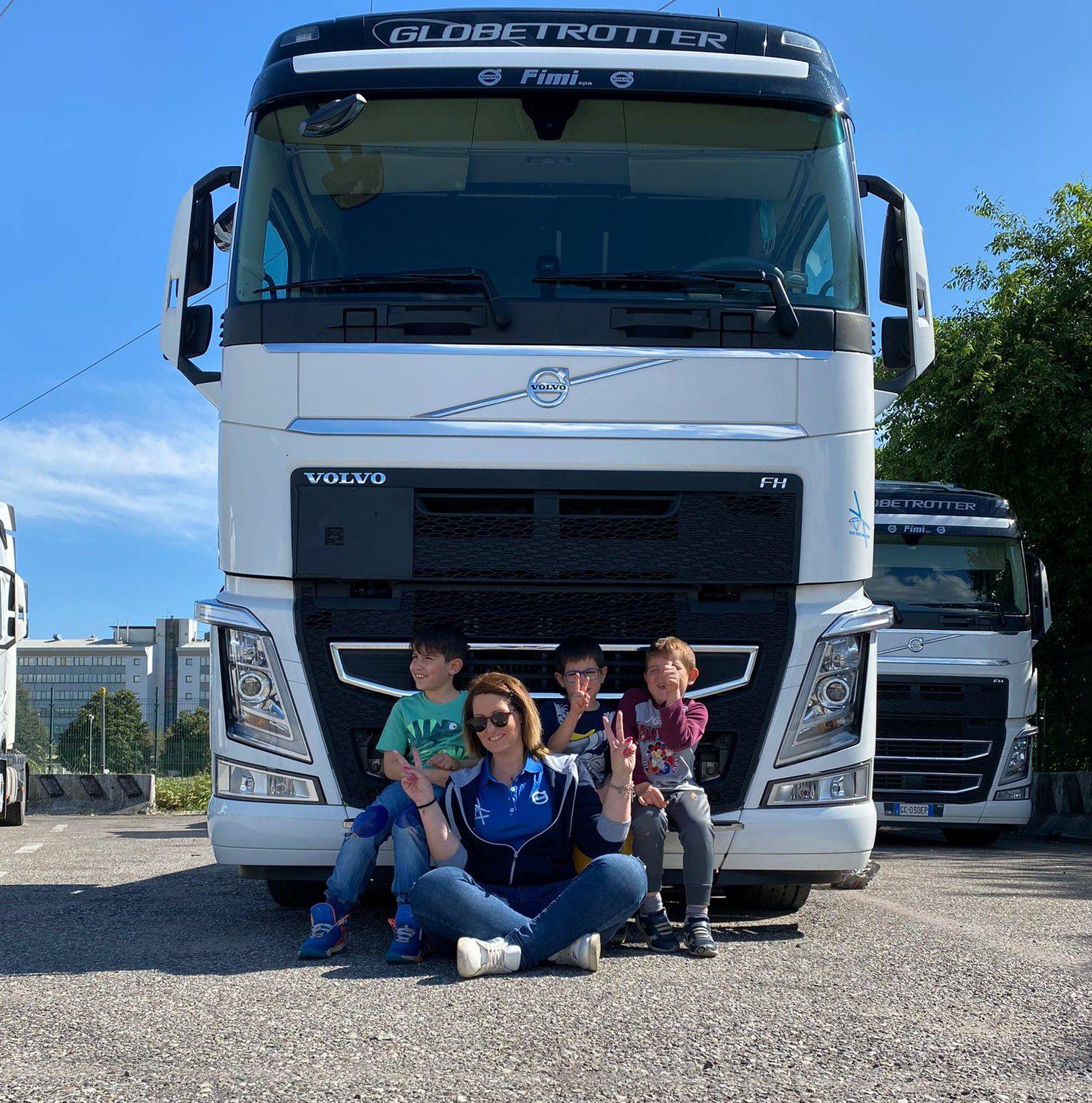 Mamma, Camionista, Volvo Ambassador: l'avventura di Sara Marino