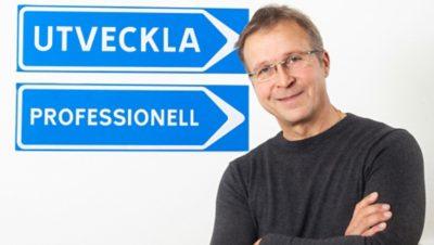 Magnus Svedberg, VD på Skellefteå Lastbilsstation.