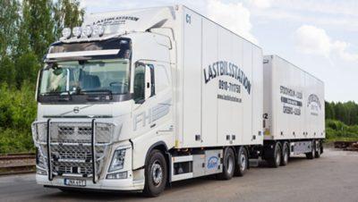 Ett av de ekipage Skellefteå Lastbilsstation har köpt av Wist.