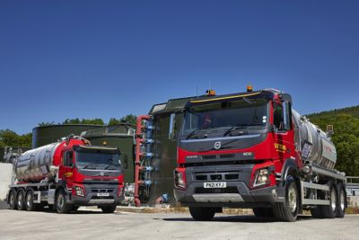 New Volvo FMX rigids tick all the boxes for Suttons Tankers