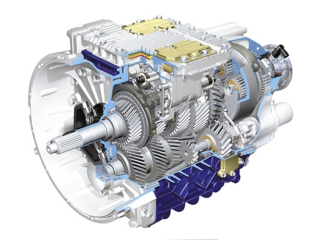 In 2001 the Volvo FH got the I-Shift gearbox. A revolution in transmission. It was a transmission system built exclusively for automatic gear changing, something no one else had done before for trucks. It gave the Volvo FH a great advantage   letting the driver focus on the traffic while getting optimal performance for long distance hauling.