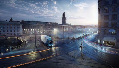 El primer camión Volvo totalmente eléctrico, el Volvo FL Electric