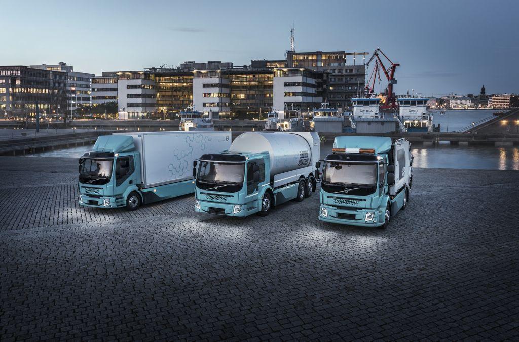 Verkaufsstart in Österreich für die Modelle Volvo FE und FL Electric