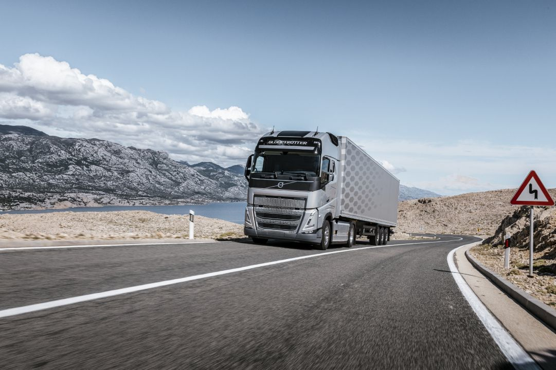 Volvo FH com I-Save torna-se ainda mais eficiente, poupando até 9 por cento