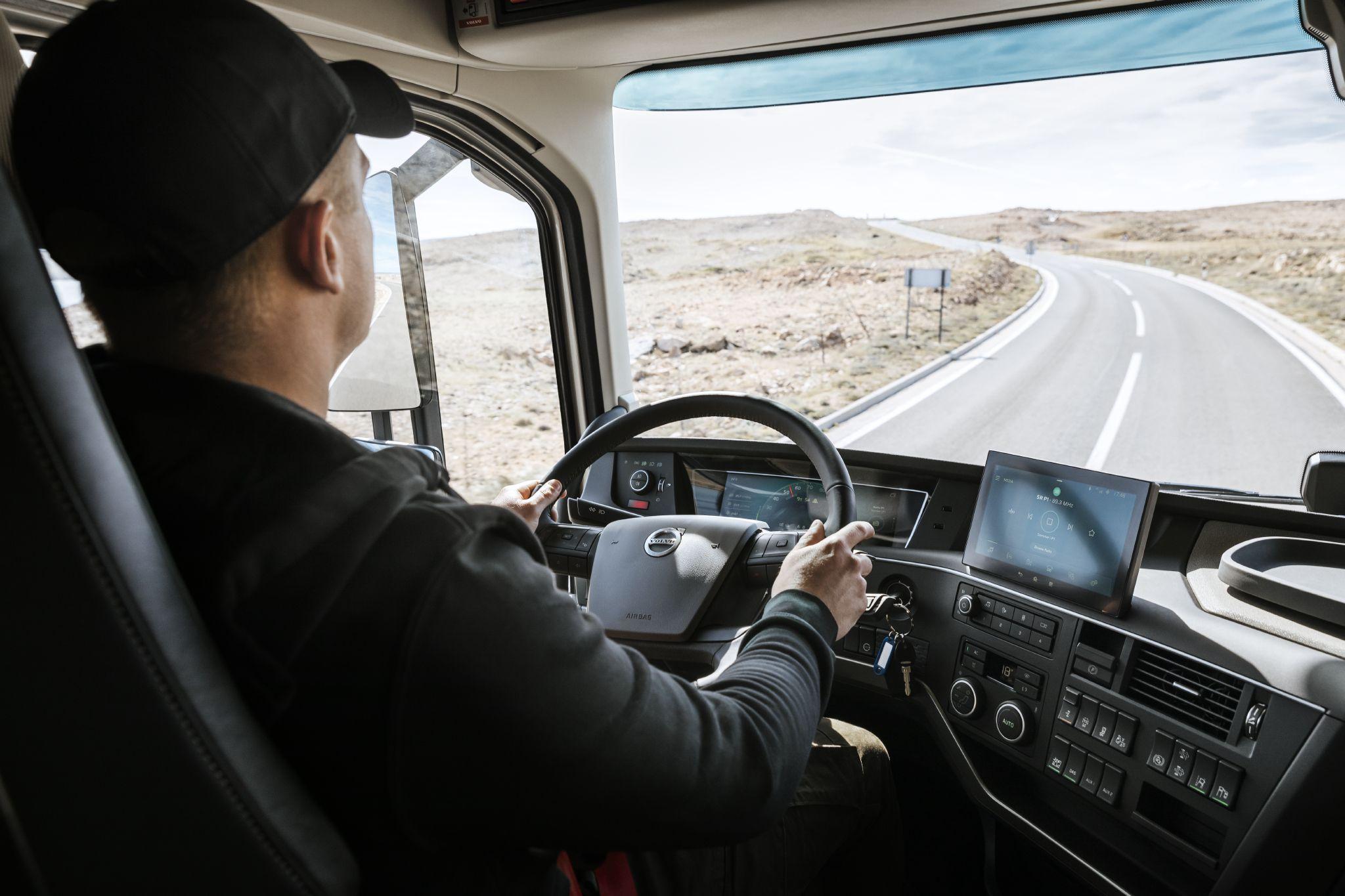 Volvo's new trucks that make it easier for drivers