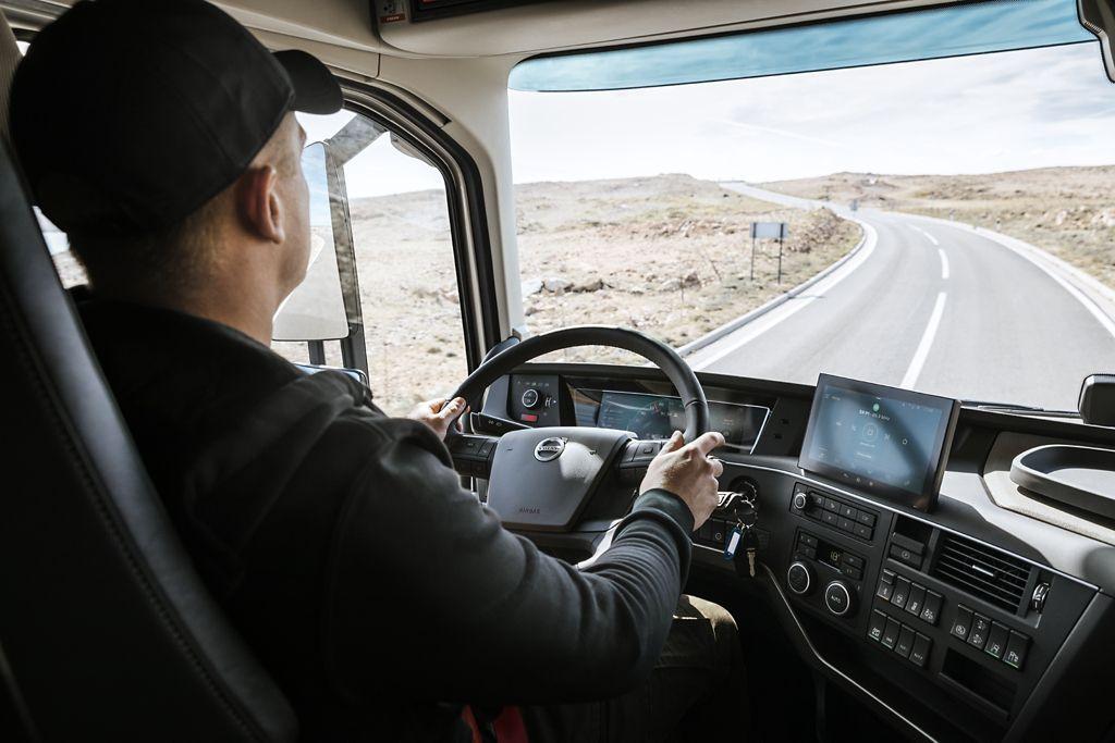 Les nouveaux camions Volvo, pensés pour faciliter le travail des conducteurs