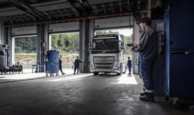 Volvo workshop