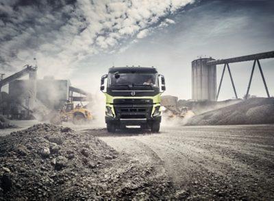 Un Volvo FM avec une empreinte environnementale réduite de 20%.