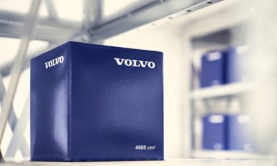 Genuine Volvo Parts Blue Box