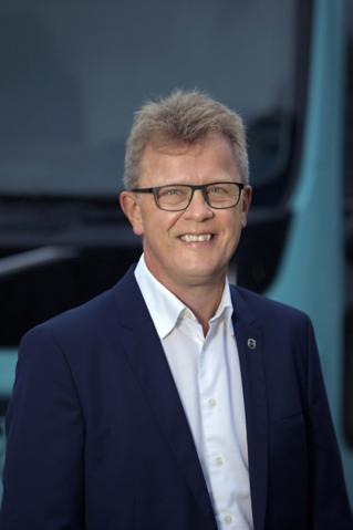 Roger Alm, President Volvo Trucks.Bild. Magnus Gotander,Bilduppdraget.Press picture , free to use. By AB Volvo