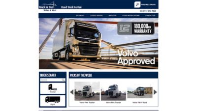 Used Volvo Trucks – Always a safe buy