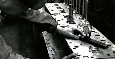 Usine Berliet de Vénissieux, contrôle qualité
