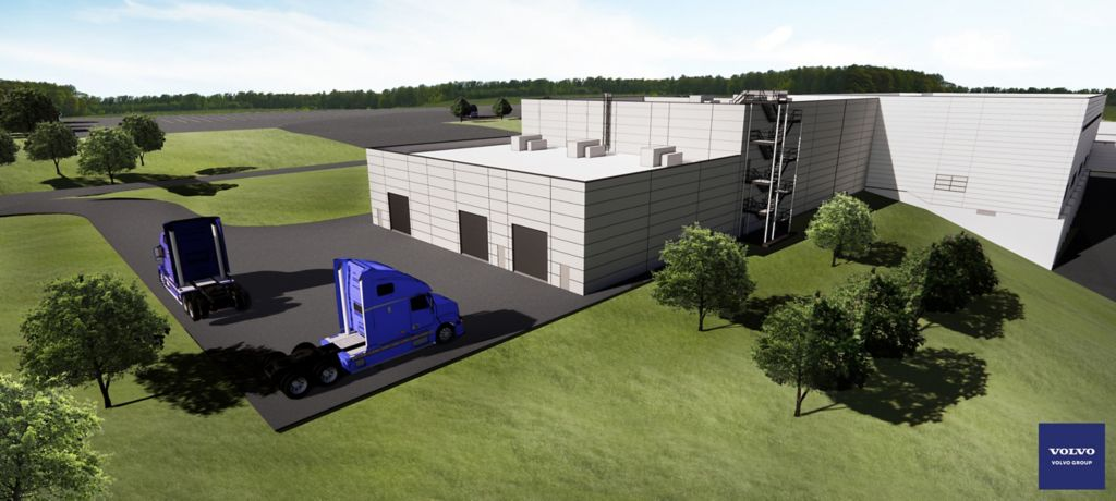 Volvo Group Breaks Ground on State-of-the-Art Vehicle Propulsion Lab in the U.S.