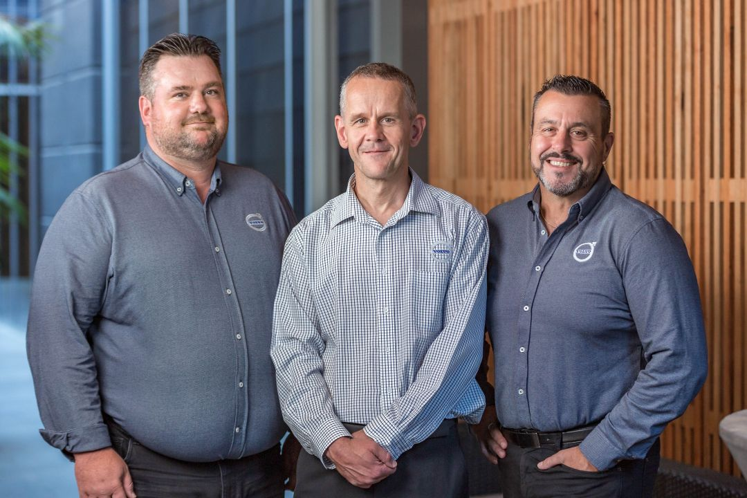 VBA E-Mobility Team - Mark Fryer, Dean Moule, Sam Compasso