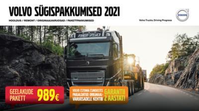 Volvo hooldus- ja remondilepingud 5+ veokile