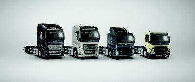 Volvo Truck Builder Line up