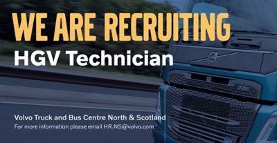 Technicians wanted at VTBC North & Scotland