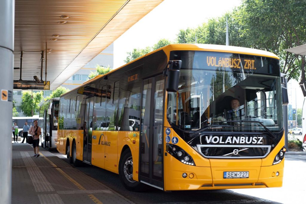 A Volanbusz Volvo 8900LE in Hungary