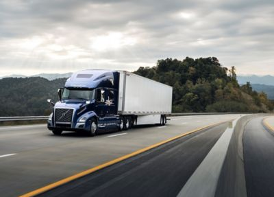 The Volvo 760 25th anniversary model will be showcased in the Volvo Trucks North America booth No. 1029 at TMC at ExpoCam in Montreal Sept. 22-23, 2021.