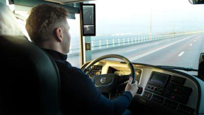 Ontworpen rond de chauffeur