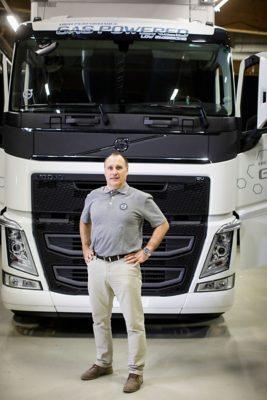Volvo Connect -tuotepäällikkö Ari Anttila