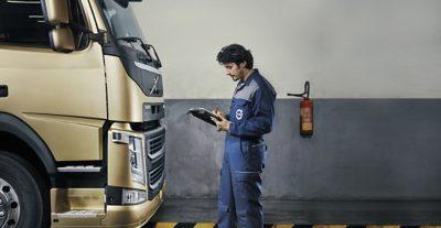 Фирменный сервис Volvo Trucks