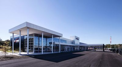 Nextran Truck Centers, a longstanding Volvo Trucks North America dealer, has acquired Westfall-O'Dell Truck Sales, adding five new Volvo Trucks locations to its dealer network. Shown here is Nextran's Duluth, Georgia location.