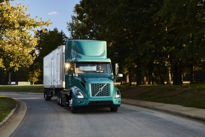 Working with local suppliers and carriers, Volvo Trucks North America will deploy three zero-tailpipe emission VNR Electrics by the end of 2021 to transport inbound parts and components daily to the company's plant in Dublin, Virginia, a key step in achieving Volvo Trucks' global sustainability target to reach net-zero greenhouse gas emissions in its operations by 2040.