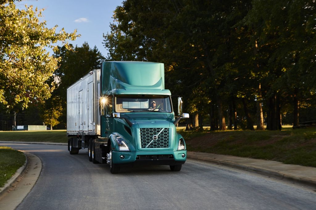 Volvo Trucks' VNR Electric Will Deliver Zero-Tailpipe Emissions Transportation to New River Valley Plant