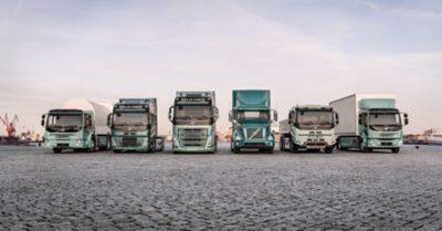 Volvo truckselectric trucks range