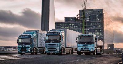 Nová řada těžkých elektrických nákladních vozidel Volvo