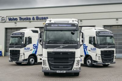 Volvo Trucks has secured a conquest deal to supply 10 new Volvo FH with I-Save 4x2 tractor units to Slam Transport.