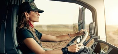 Volvo trucks about us career female driver