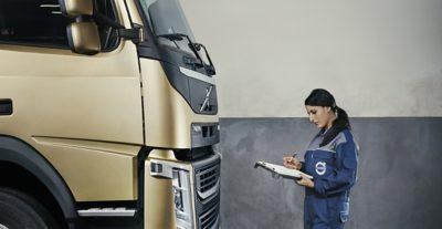 Informieren Sie sich über die beruflichen Möglichkeiten bei Volvo Trucks