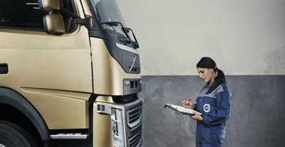 Averigüe sobre empleos con Volvo Trucks