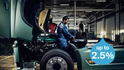 Volvo trucks about us every drop counts FH service