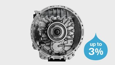 Volvo FM I-shift gearbox studio