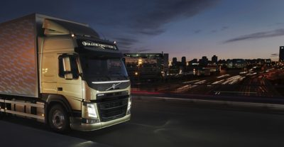 Volvo trucks about us overview truck city night