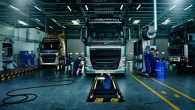 Palveluista on hyötyä niin polttoainetehokkuudessa, turvallisuudessa, kuljettajien tuottavuudessa kuin turvallisuudessakin