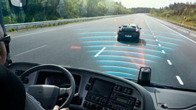 沃尔沃客车——碰撞警告、紧急制动和车道保持系统